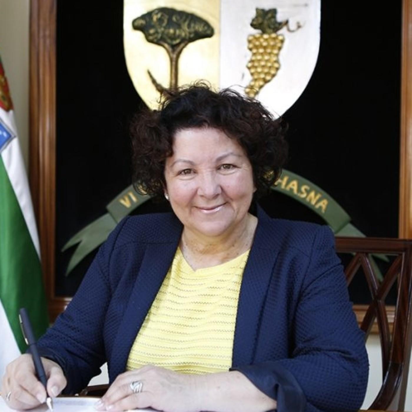 Agustina Beltrán Yanes, Alcaldesa de Vilaflor de Chasna